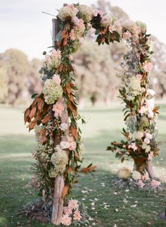 Fall Foliage: http://www.stylemepretty.com/2015/07/17/26-floral-arches-that-will-make-you-say-i-do/