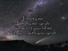 a lot of prayer time spent listening to this song <3 | Jeremy Camp  - Empty Me