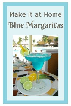 Our guests at Secrets Resorts & Spas are always raving about our Blue Margaritas, so today we decided to share our recipe.