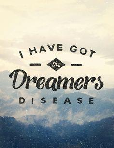 #dreamersdisease, #typography  —Follow KnativeWebsite Twitter Tumblr