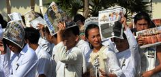 Cambodia's autocratic leader is trying to shut down his country's most celebrated journalistic training ground.