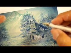 Stampscapes 101: Video 1. Seamless Scenes - YouTube