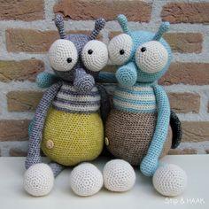 Stip & HAAK Crochet Amigurumi, Amigurumi Doll, Crochet Dolls, Crochet Birds, Crochet Animals, Crochet Toys Patterns, Stuffed Toys Patterns, Crochet Chart, Diy Crochet