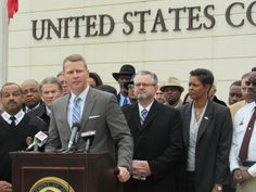 U.S. Attorney Mike Hurst unveils Project Eject.