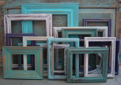Wooden Picture Frame Gallery Wall Seaside Shore Collection $125