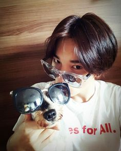 """""""160711 - Instagram @ssongjjong.ifnt; #귀요미 나리랑♡ """" Trans: """" With the #cute Nari♡ """" translated by: fyeah-infinite ; take out with full…"""