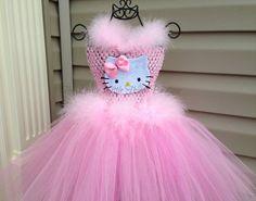 Glamour Kitty Hello Kitty Tutu Dress. by LovelyLittleThings1, $43.99 @Daniela Yanez