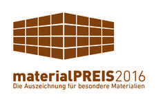 I-MESH has been selected for the category Innovative Material - Design for the MaterialPREIS2016 by a high prominent Jury.  The Jury composed by a panel of professionals chosen for competence, experience, academic prestige, reputation.
