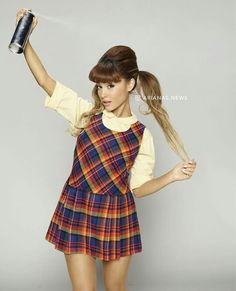 ARIANA GRANDE AS PENNY ON HAIRSPRAY LIVE #KIMILOVEE #THEWIFE PLEASE DON'T CHANGE MY CAPTIONS OR YOU'LL BE BLOCKED!