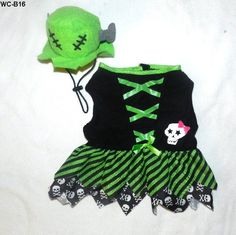 DOG HALLOWEEN! PETS Halloween Witch Costume Medium Size Dog .. NEW $12.99 free ship, oh so CUTE