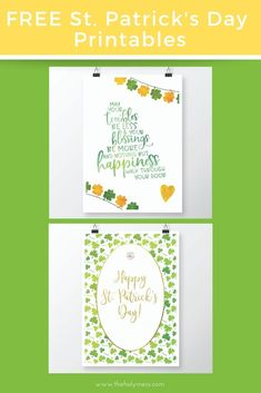 How your Irish spirit with these free St. Use for St. Patrick's Day on March 17 or anytime of the year. Printable Quotes, Printable Art, Free Printables, House Blessing, Irish Blessing, Christ In Me, Irish Culture, Christmas Blessings, Irish Traditions