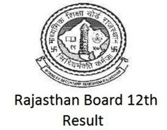 Rajasthan Board 12th (Science) Result 2016, RBSE 12th Class Results @ www.rajresults.nic.in