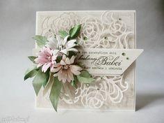 Kochanej babci scrapbooking kartki marbella babcia życzenia