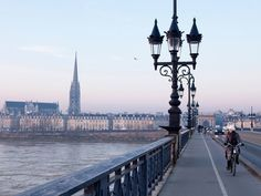 Cycling through Bordeaux is always a pleasant experience, thanks to the beautiful views and tramlines getting cars off the road. The city also boasts a great bike share system, VClub, that continues to make cycling more mainstream.