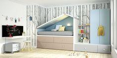 Cómo decorar habitaciones infantiles con Lagrama | DecoPeques