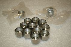 """Lot 14 Swagelok Cajon SS-8-VCR-CP 1/2"""" VCR 316 SS Face Seal Fitting Caps #Swagelok"""