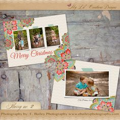 Flurry Holiday template by My Lil Creations