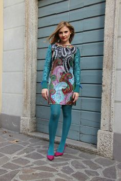 Abito stampa batik – Batik print dress (Fashion Blogger Outfit)