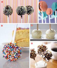 Cake pop collection! #cake pops, #desserts, #mini desserts