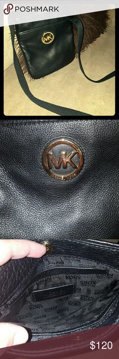 Michael Kors Crossbody This is a small, GENUINE MK crossbody. It has adjustable strap and can be used as a small hand carried bag if desired. I have never carried this purse and was purchased brand new!! Michael Kors Bags Crossbody Bags