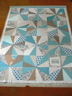 Jenny: Wedding Quilt Progress by Stumbles & Stitches, via Flickr