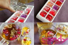 Throw a DIY Iced Tea Party to end your summer right! Tea Party Theme, Party Fun, Diy Party, Party Time, Party Ideas, Flower Ice Cubes, Bridal Shower, Baby Shower, Tea Parties