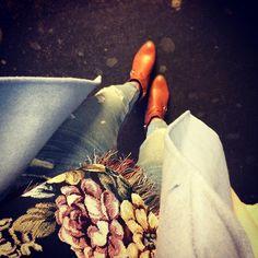 Morgenspaziergang 🍂 #floral #lifestyle #blogger #walk #spaziergang #miaandthemouse #fashion #fashionblogger