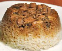 Resep Nasi Tim Ayam Jamur Spesial