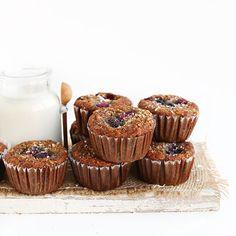 Coconut Berry Muffins | Minimalist Baker Recipes