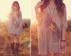 Howling at the Sun, Growling at the Moon (by Ashlei Louise) http://lookbook.nu/look/3879690-Howling-at-the-Sun-Growling-at-the-Moon