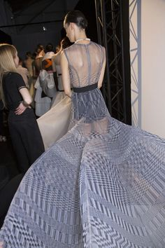 Christian Dior Couture Fall 2013 * Backstage