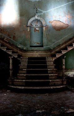 Beautiful Abandoned Places...Entrance to St Johns Mental Asylum in Bracebridge Heath, England.