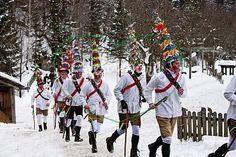 Carneval in Murtal (Steiermark, Austria)