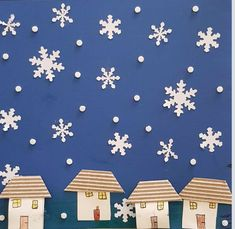 January Crafts, Winter Project, World Crafts, Diy Christmas Cards, Winter Art, Infant Activities, Art Plastique, Winter Holidays, Art Lessons