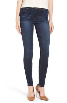 Free shipping and returns on Kut From the Kloth Mia Stretch Skinny Jeans (Awareness) at Nordstrom.com. Cut from soft denim that stretches but won't stretch out, toothpick-skinny jeans feature a dark wash aged with perfectly placed fading and whiskering.