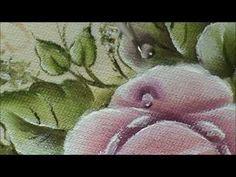Pintando Toalhinha de Mão - Rosa cor de Rosa