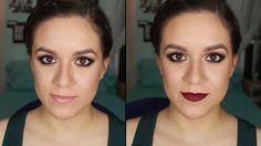 Ojos ahumados con UD Naked 2, labios nude y rojos - Tutorial | Ruboradero