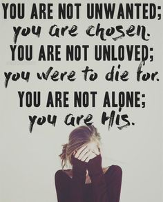 The enemy will try to break you, steal your joy, shake your confidence, destroy your faith, and make you feel hopeless but you don't need to listen to one single lie of his. You are created with a purpose. You are loved. You are victorious with Christ. Hold on to these truths and never forget that the enemy is a liar and his lies have no power in your life because you are a child of God. <Didn't write this! Love it!