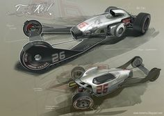 Concept cars and trucks: Concept vehicle art by Thomas McDowell