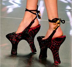 Crazy Shoes  tim burton like