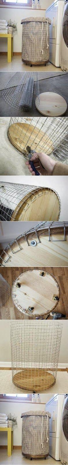 Muito prático. #cesto  #arame   #artesanato