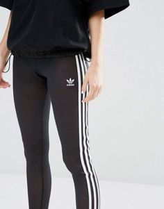 fcff0e5014d MED adidas Originals Women's Bodycon 3-STRIPES MESH LEGGINGS US:8 LAST1