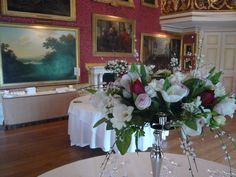 Goodwood House, Ballroom, decorated with candelabras