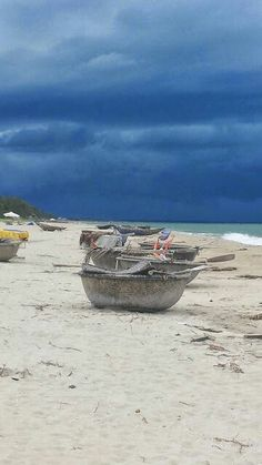 Local fishing boats . Boutique Hoi An resort.