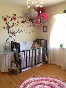 Izabel's Frugal Baby Girl Nursery | Creating Your Calm