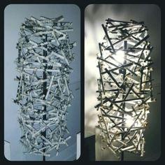 Paper lamp.