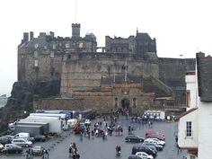 Edinburgh Castle travel-and-places