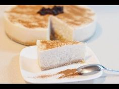 Pastel Frio de Arroz con Leche