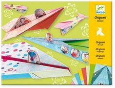 Djeco Origami, Aircraft Girls Craft Kits Felt Kits Flower Pressing Jewelry Mosaics Paint with Water Kits Paint-By-Number Kits Paper Craft Sand Art Scrapbooking Sewing Wood Stickers Origami Mouse, Origami Yoda, Origami Star Box, Origami Dragon, Origami Fish, Origami Paper Plane, Origami Folding, Origami Art, Origami Design