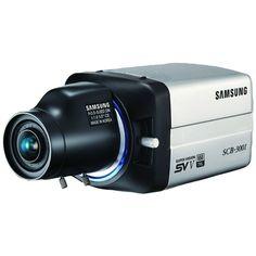 Samsung SCB-3001 650 TVL True Day/Night Box Camera